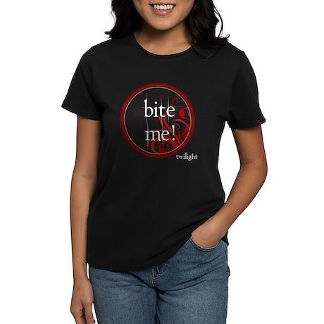 Twilight Bite Me Women's Dark T-Shirt