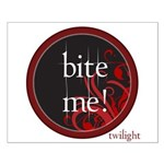 Twilight Bite Me Small Poster