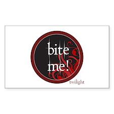 Twilight Bite Me Rectangle Sticker 50 pk)