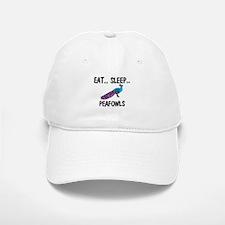 Eat ... Sleep ... PEAFOWLS Baseball Baseball Cap