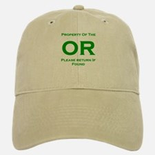 OR Prop green Baseball Baseball Cap