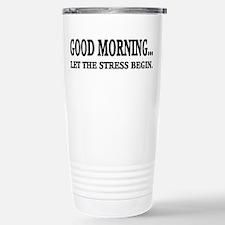 Stress Stainless Steel Travel Mug