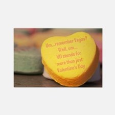 VD more than Valentine's Day Rectangle Magnet