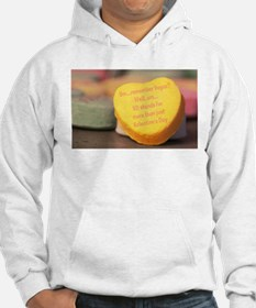 VD more than Valentine's Day Hoodie