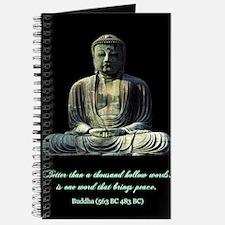 Peace Buddha Journal