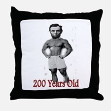 More Lincoln Throw Pillow