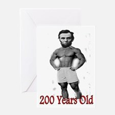 More Lincoln Greeting Card