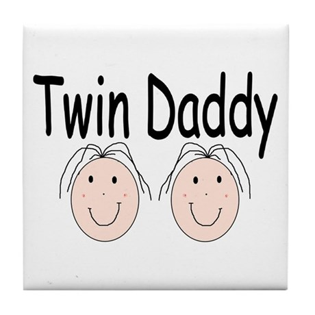 Twin Daddy, Girl/Girl Tile Coaster
