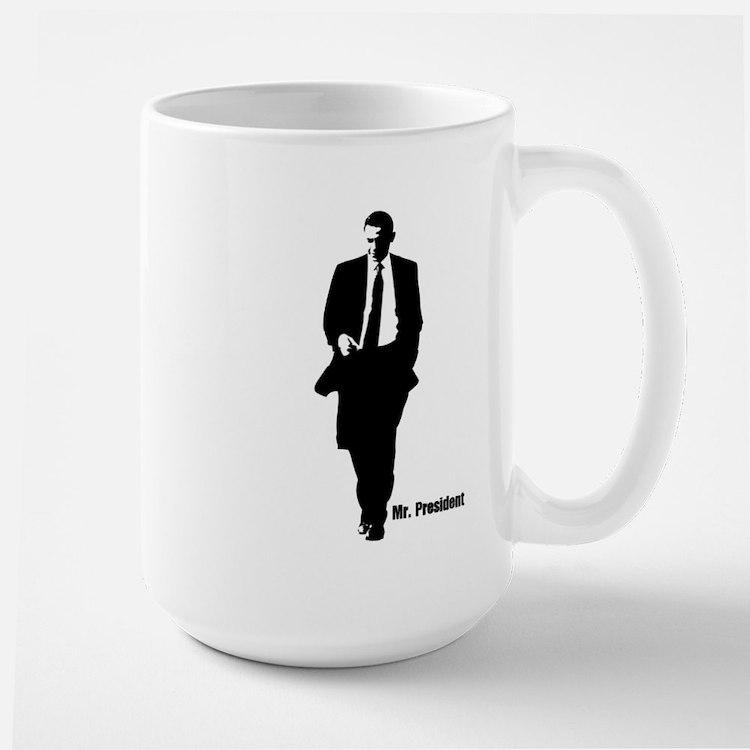 Mr. President (Obama Silhouet Mug