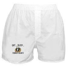 Eat ... Sleep ... PANDA BEARS Boxer Shorts