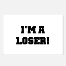 I'm a Loser Postcards (Package of 8)
