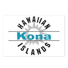 Kona Hawaii Postcards (Package of 8)