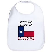 My Texas Grandma Loves Me Bib