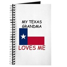 My Texas Grandma Loves Me Journal