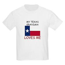My Texas Grandma Loves Me T-Shirt
