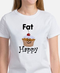 FAT & Happy Women's T-Shirt