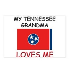 My Tennessee Grandma Loves Me Postcards (Package o