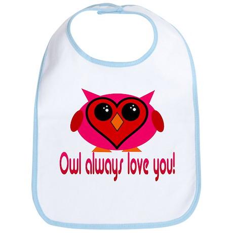 Owl Always Love You! Bib