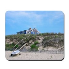 Cape Cod Beach House Mousepad