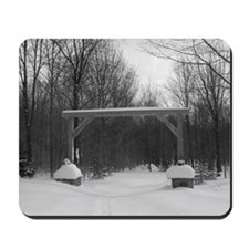 Winter Gate Mousepad