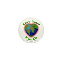 LoveYourEarth Mini Button (100 pack)