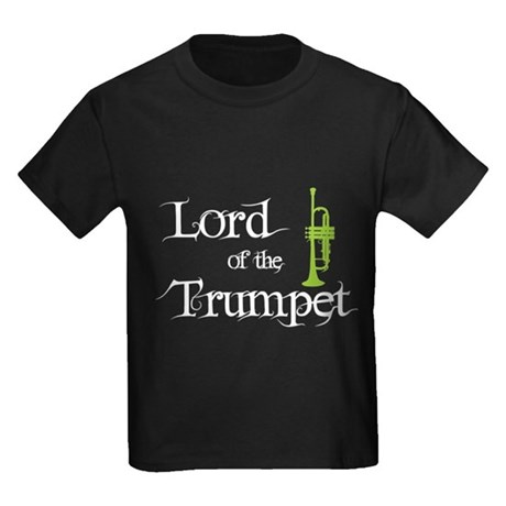 Lord of the Trumpet Kids Dark T-Shirt