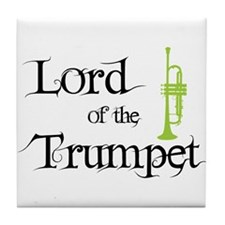 Lord of the Trumpet Tile Coaster