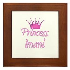 Princess Imani Framed Tile
