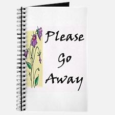 Please Go Away Journal