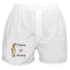 Please Go Away Boxer Shorts