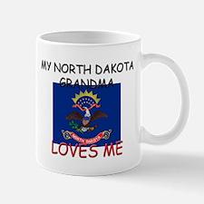 My North Dakota Grandma Loves Me Mug