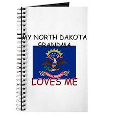 My North Dakota Grandma Loves Me Journal