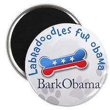 Labradoodles fur Obama Magnet