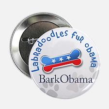 "Labradoodles fur Obama 2.25"" Button"