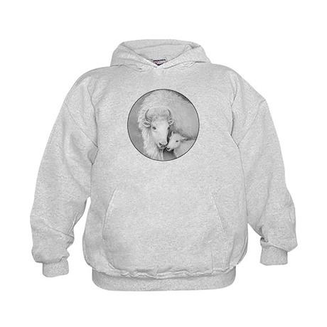 White Buffalo & Calf ~ Kids Hoodie (2 Sides)