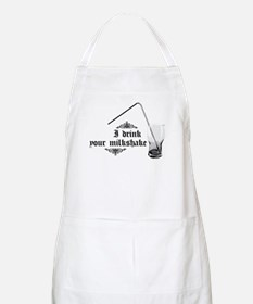 I Drink Your Milkshake BBQ Apron