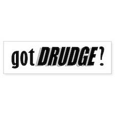 got DRUDGE? Bumper Car Sticker