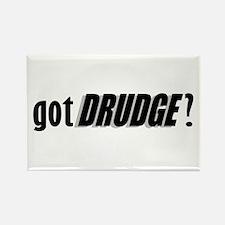 got DRUDGE? Rectangle Magnet (100 pack)