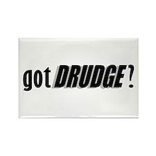 got DRUDGE? Rectangle Magnet