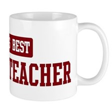 Worlds best Zoology Teacher Mug