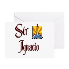 Sir Ignacio Greeting Card