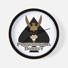 Donkey Pro Wall Clock
