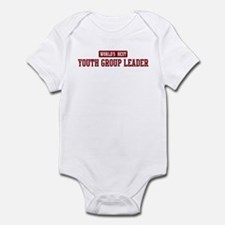 Worlds best Youth Group Leade Infant Bodysuit