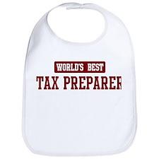 Worlds best Tax Preparer Bib