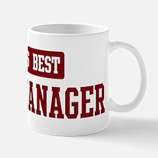 Worlds best Sales Manager Mug