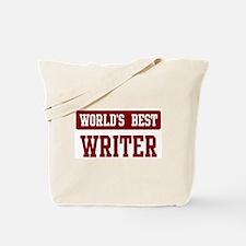 Worlds best Writer Tote Bag