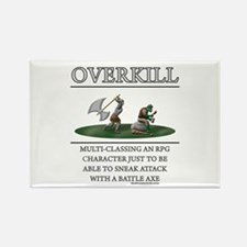 Overkill Rectangle Magnet