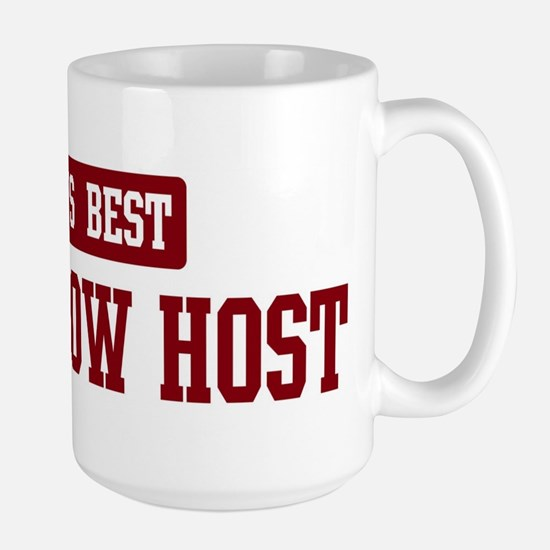 Worlds best Talk Show Host Large Mug