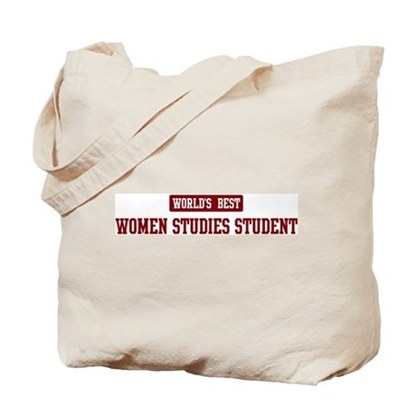 Worlds best Women Studies Stu Tote Bag