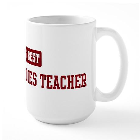 Worlds best Religious Studies Large Mug
